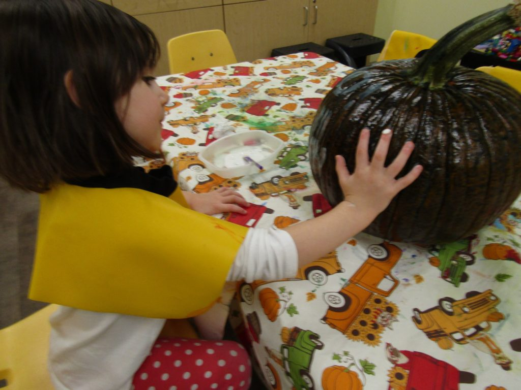 Bunny Room Pumpkin